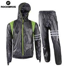 ROCKBROS cyclisme vélo Jersey imperméable imperméable vtt route vélo veste réfléchissante unisexe respirant cyclisme vêtements équipement