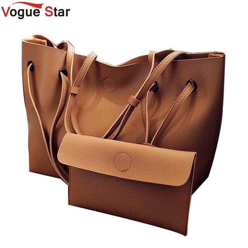 2 conjunto feminino composto saco de alta qualidade couro do plutônio bolsa de ombro grande capacidade tote bags para bolsas femininas lb361