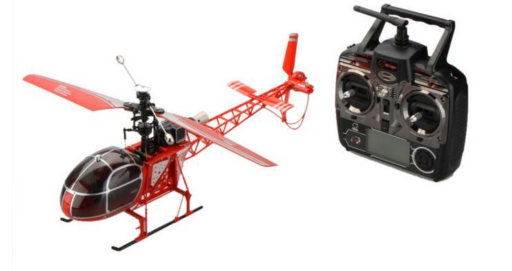 Высокое качество Радиоуправляемый вертолет Дрон V915 4CH 2,4G 6 Axis Gyro 2 ModesSingle пропеллер высокая имитация дистанционного управления вертолетом