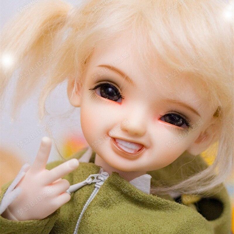 1/6BJD muñeca SD muñeca bwy kiwi bonita muñeca móvil Molde de resina