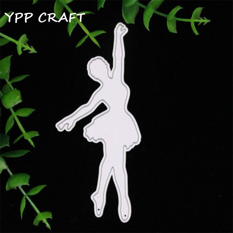 YPP CRAFT Dancing Ballet Girl Metal die cuts metal cutting dies scrapbooking suit for     cutting machine