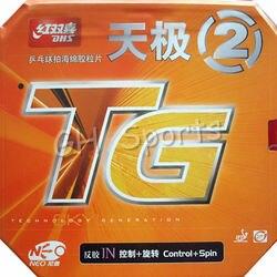Dhs neo skyline tg 2 controle + spin pips-no tênis de mesa pingpong borracha com esponja 2.15-2.2mm