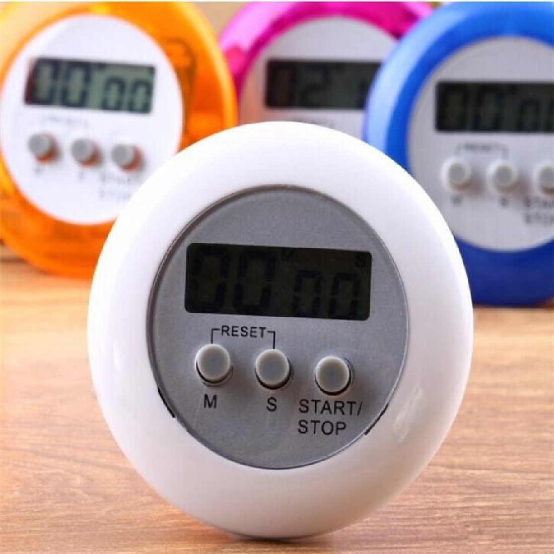 Mini LCD cocina temporizadores Digital cocina cuenta atrás detener el reloj despertador herramienta de cocina temporizador magnético soporte trasero