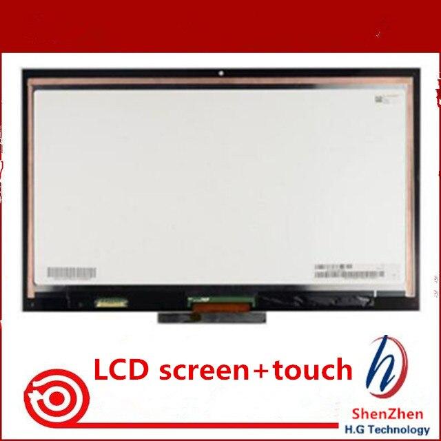 مجموعة أصلية لشاشة SONY VAIO PRO 13 PRO13 SVP13 SVP132 SVP132A SVP1321 SVP132A LCD تعمل باللمس زجاج أمامي