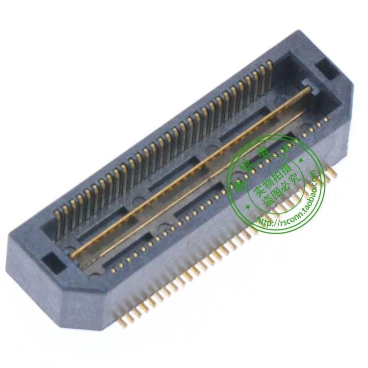 Samtec connector pitch 0.5 30PIN 60PIN sides Model : QTH-030-01-LDA