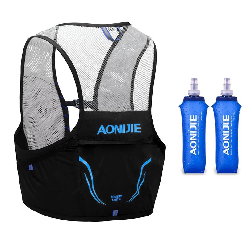 AONIJIE-حقيبة ظهر خفيفة الوزن C932 ، سترة للجري ، النايلون ، حزمة الترطيب ، ركوب الدراجات ، ماراثون ، محمولة ، المشي لمسافات طويلة ، 2.5 لتر