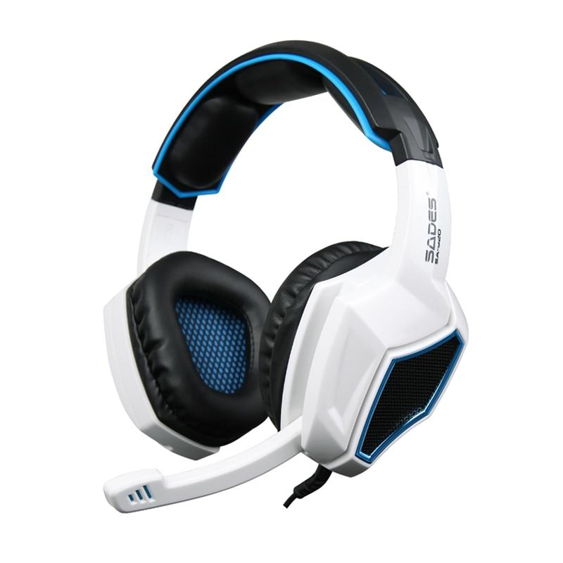 Auriculares para juegos Sades SA920 3 en 1, auriculares estéreo para juegos con micrófono, Control de volumen para teléfono móvil, tableta Xbox360, mejor funda