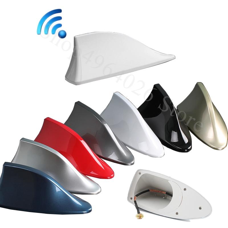 For Toyota Supra Tacoma Verso Wish Yaris Auris PRIUS C Auto Accessories Car Signal Aerials Shark fin antenna Accessories Styling