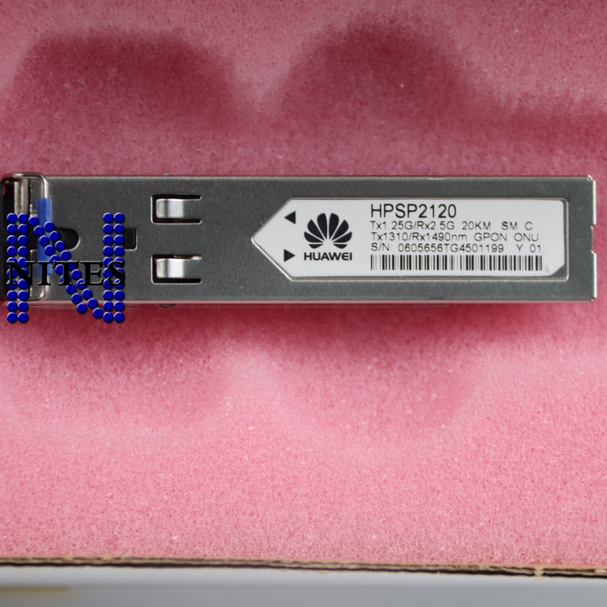 Brand Original HW HPSP2120 GPON ONU SFP Tx1310/Rx1490nm 1.25G/Rx2.5G 20km SM use for MA5626 MA5620 MDU
