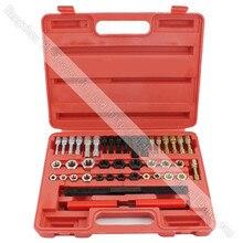 Повторный набор инструментов для нарезания резьбы, краны и штампы, инструмент для ремонта резьбы