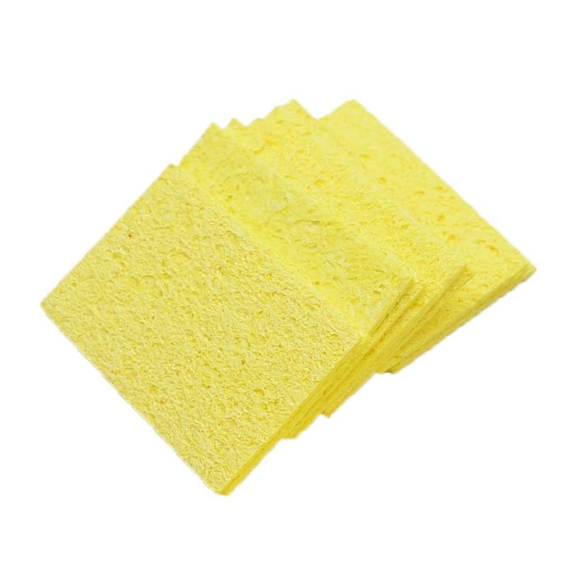 5 / 10buc burete galben de curățare, mai curat pentru sudură - Echipamente de sudura - Fotografie 2