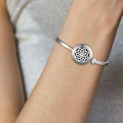 Женский браслет с диффузором из эфирных масел, браслет из нержавеющей стали 316L