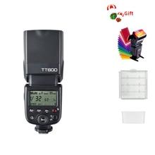 Godox TT600 2.4G sans fil GN60 maître/esclave caméra Flash Speedlite pour Canon Nikon Sony Pentax Olympus Fuji Lumix