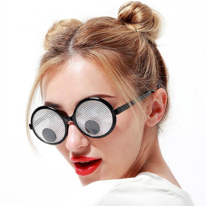 Gafas de sol con movimiento, divertidas, creativas, novedosas, para fiestas, disfraces de fiesta, Juguetes Divertidos, recién llegados 2019