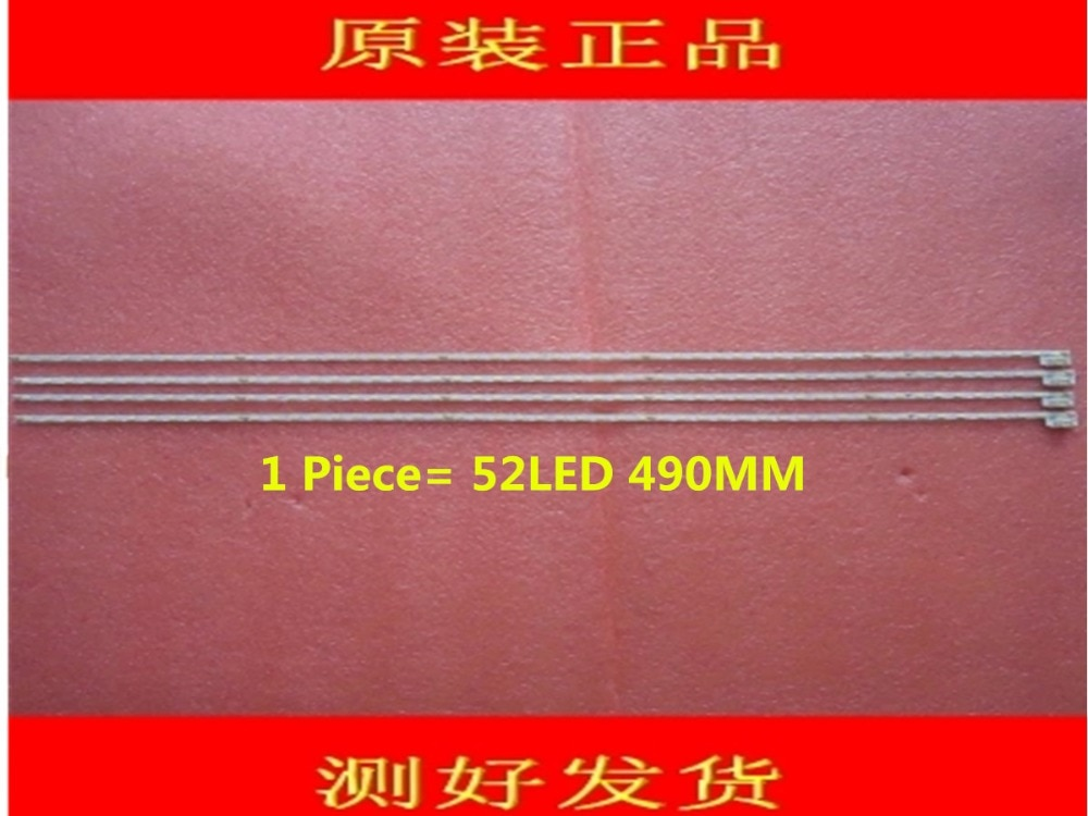 1 peça LCD-40V3A V400HJ6-LE8 Novo tira CONDUZIDA V400HJ6-ME2-TREM1 1 peça 52LED 490mm
