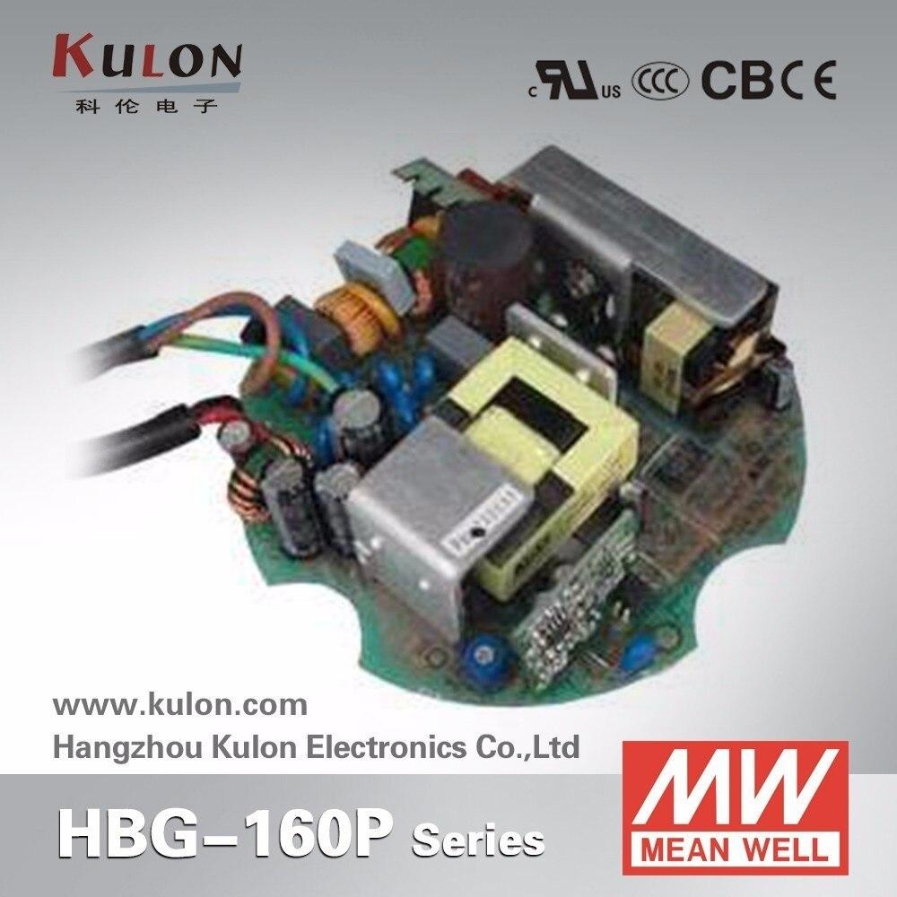 Original Meanwell 35V controlador LED de corriente constante Tipo PCB HBG-60-2100P 60,9 W 2100mA LED fuente de alimentación