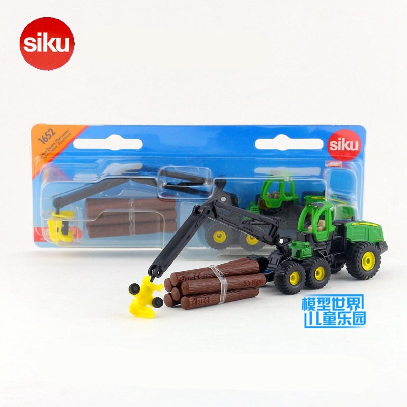 Frete grátis/siku 1652 brinquedo/diecast metal modelo/jd colheitadeira trator caminhão carro/coleção educacional/presente para crianças/pequeno