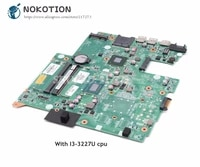 nokotion for hp pavilion 14 14 b laptop motherboard i3 3227u cpu 718726 501 718726 001 719086 501 da0u33mb6d0 main board