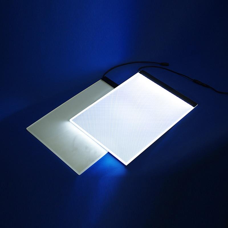 A4 портативная светодиодная световая доска для рисования, коврик для рисования, стол для рисования, коврик для татуировки