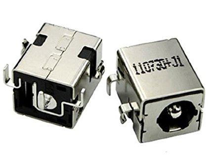 WZSM New DC Power Jack para Asus K53E K53S K53SD K53SV U52 U52F X53U X53E X54C A52