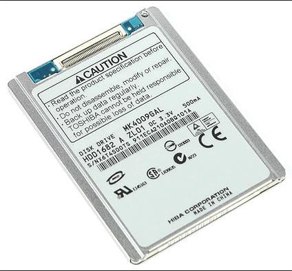 """Новый жесткий диск 1,8 """"HDD CE/ZIF 40 ГБ mk4009 gal для ноутбука HP MINI 2510P 2710P SONY DV D420, сменный MK6028GAL hs082hb HS06THB"""