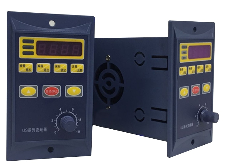 220V 0.4KW 400W de una sola fase de entrada y 220v 3 fase de salida inversor de frecuencia para mini motor CA coche convertidor de frecuencia