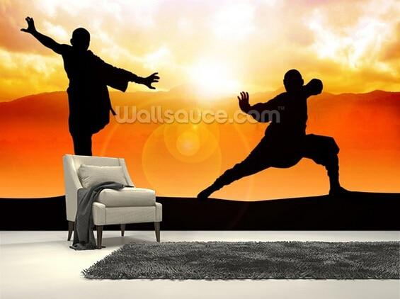 Custom art wallpaper,Martial Arts,3D photo murals for the living room bedroom kitchen wall waterproof papel de parede