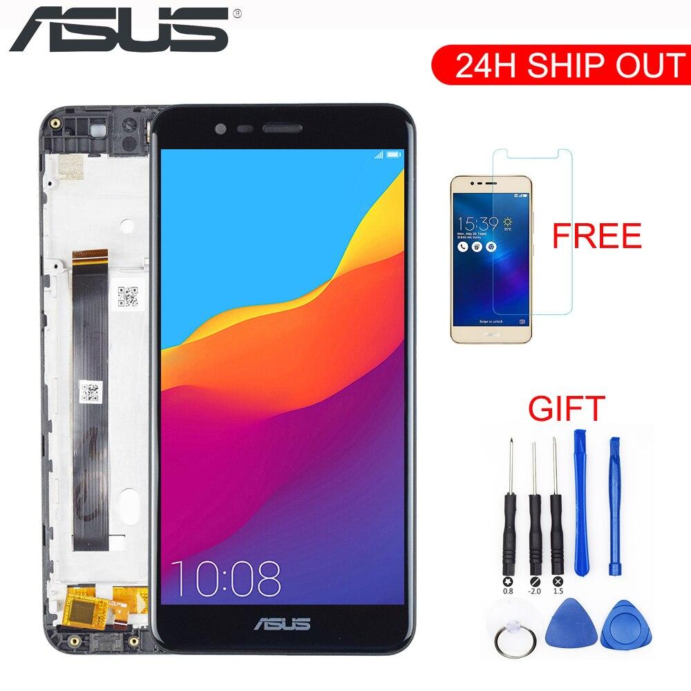 شاشة LCD أصلية 5.2 بوصة لهاتف Asus Zenfone 3 Max ZC520TL, شاشة LCD تعمل باللمس ، تجميع محول رقمي X008D ZC520TL