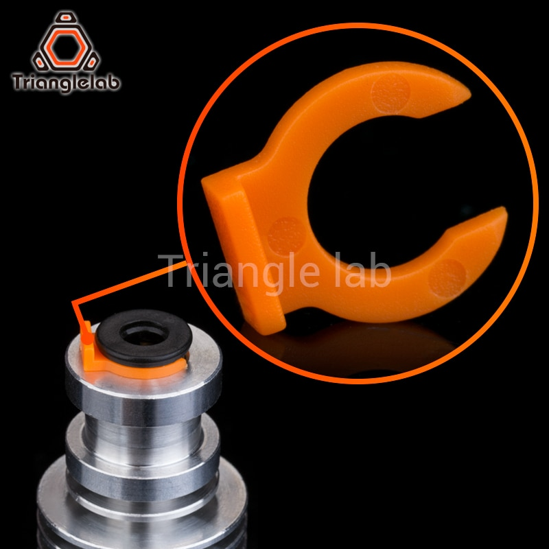 aliexpress.com - trianglelab Collet Clips for bowden tube collet  for E3D heatsink hotend 3D printer access 1.75 mm filament Bowden Collet Clips