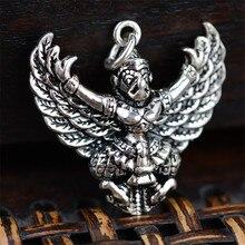BESTLYBUY тайская серебряная подвеска с орлом птицей Гаруда сила Бог S925 Стерлинговое серебро ювелирные изделия подвеска