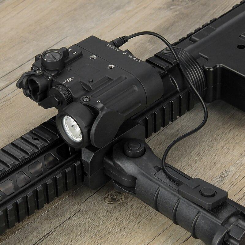 tactical flashlight DBAL-D2 Dual Beam Aiming Laser Green weapon light with IR LED Illuminator Class 1 gz15-0074