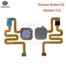 Pour Xiaomi Redmi S2/pour Redmi Y2 Scanner dempreintes digitales capteur tactile ID bouton daccueil retour assemblage câble flexible