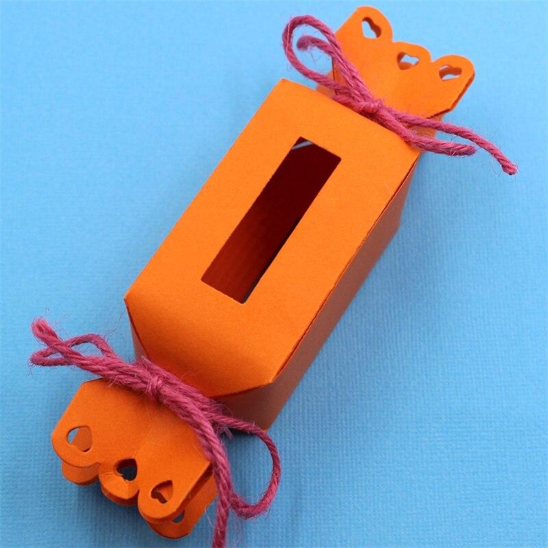 Caja de dulces KSCRAFT, plantillas de corte de Metal para álbum de recortes DIY/álbum de fotos decorativo en relieve, tarjetas de papel DIY