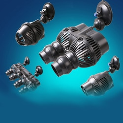 220V Sunsun Wave Maker Wavemaker водяной насос для аквариума, аквариумный насос 2,5 W 3W 6W 12W 24W 48W, насос для серфинга,