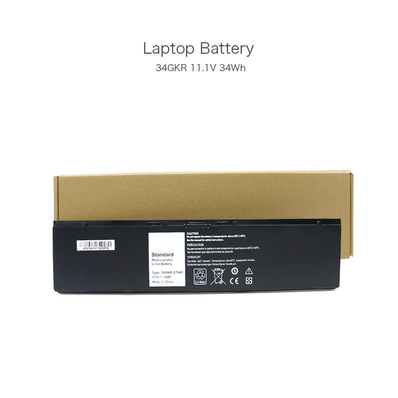 11.1V 34Wh 34GKR 3RNFD G0G2M E7440 Rechargeable Li-ion Battery for Dell Latitude E7420 Latitude E7440 Latitude E7450 Laptop