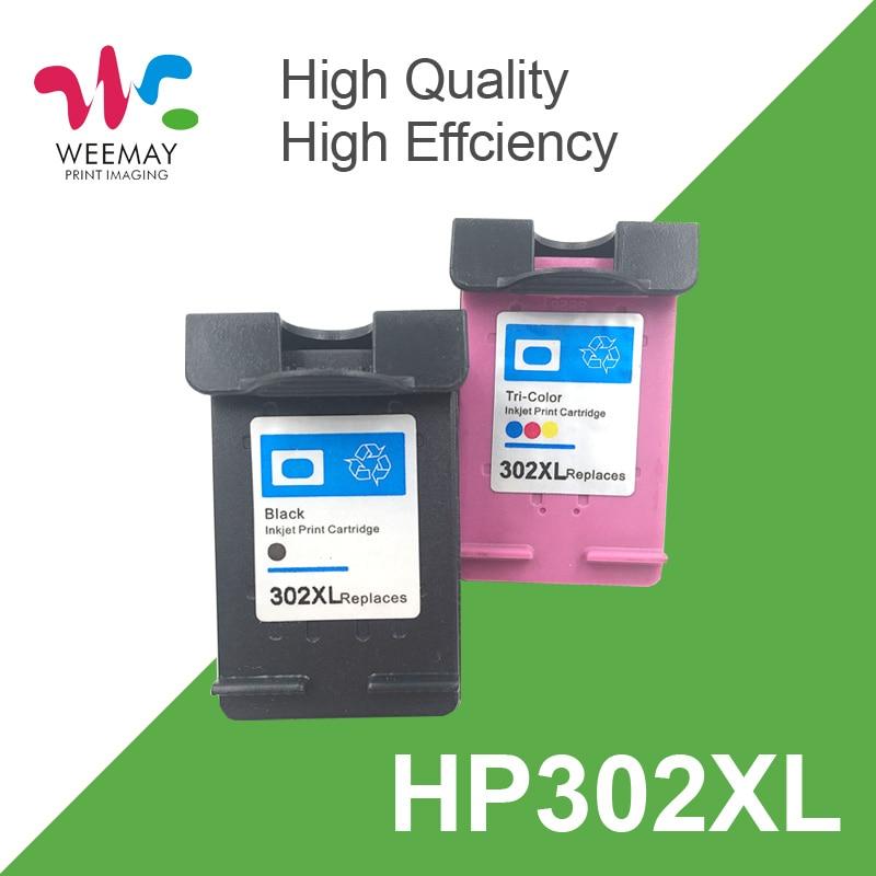 1 комплект 302XL чернильный картридж для HP 302 302 XL Замена для HP Deskjet 2130 2135 1110 3630 3632 Officejet 3830 3834 4650 4655