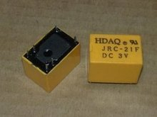 2 x JRC 21F 3V 3 V HK4100F DC3V Volt Power Relay 6pin