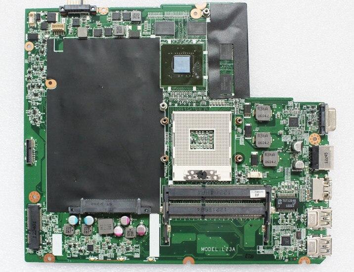 Alta calidad DALZ3AMB8E0 LZ3A para Lenovo Ideapad Z580 HM76 PGA989 N13P-GS-A2 GT640M 2 GB 100% probado completamente