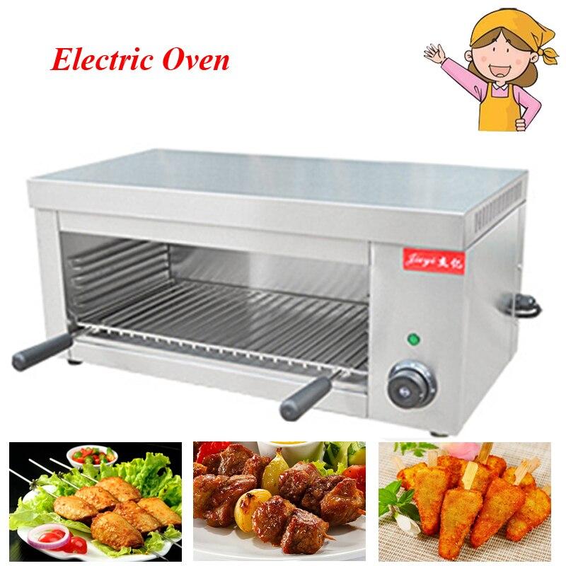 الكهربائية شواء التجاري التدفئة فرن الطبخ الأجهزة الغذاء فرن الدجاج المحمصة سطح المكتب السمندر شواء FY-936