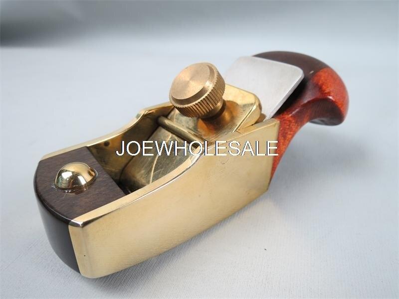 Herramienta para hacer violín latón de Lujo + ébano plano convexo de 79mm inferior, herramientas para tallar madera, mini plano