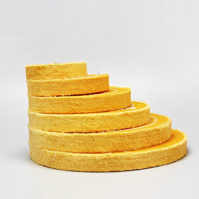 75-200 мм желтая хлопковая ворсовая ткань, полировочное колесо золотого и серебряного цвета для зеркальной полировки, 4 мм, внутренняя дыра
