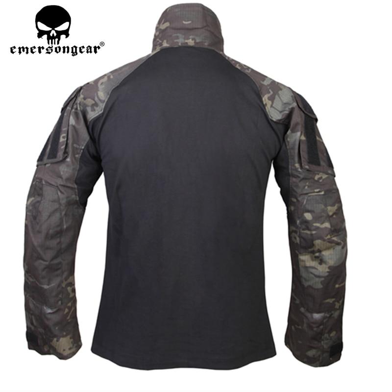 Emerson táctico G3 camisa de combate Emerson BDU camisa militar del ejército Multicam negro EM9256