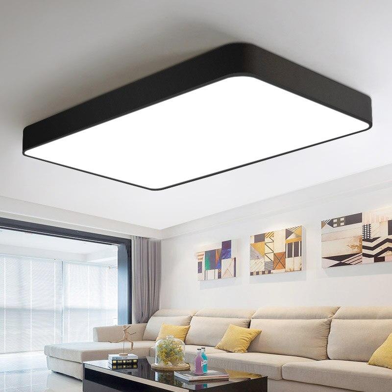 Luces de techo led modernas, envío gratis, para sala de estar, dormitorio, lustres de sala, iluminación interior del hogar, abajur regulable