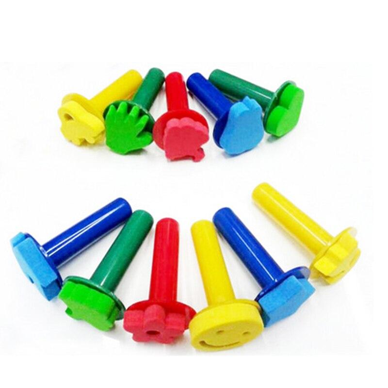 3 шт./компл. EVA цветные детские развивающие игрушки для рисования, набор для детей, нетоксичный материал, подарки на Рождество, день рождения