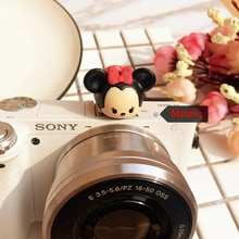 Lovely 3D Mickey Cartoon Camera Flashlight Hot Shoe cover For Canon Nikon Fujifilm Samsung Panasonic Leica Olympus
