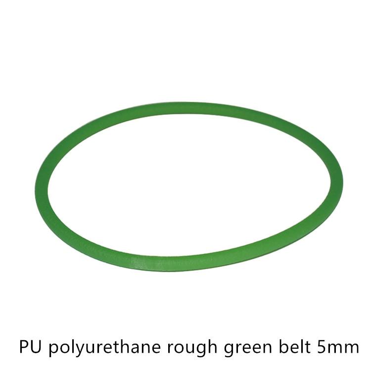 Rough polyurethane round belt diameter 5mm perimeter 370mm connecting wear-resisting oil resistance adhesion