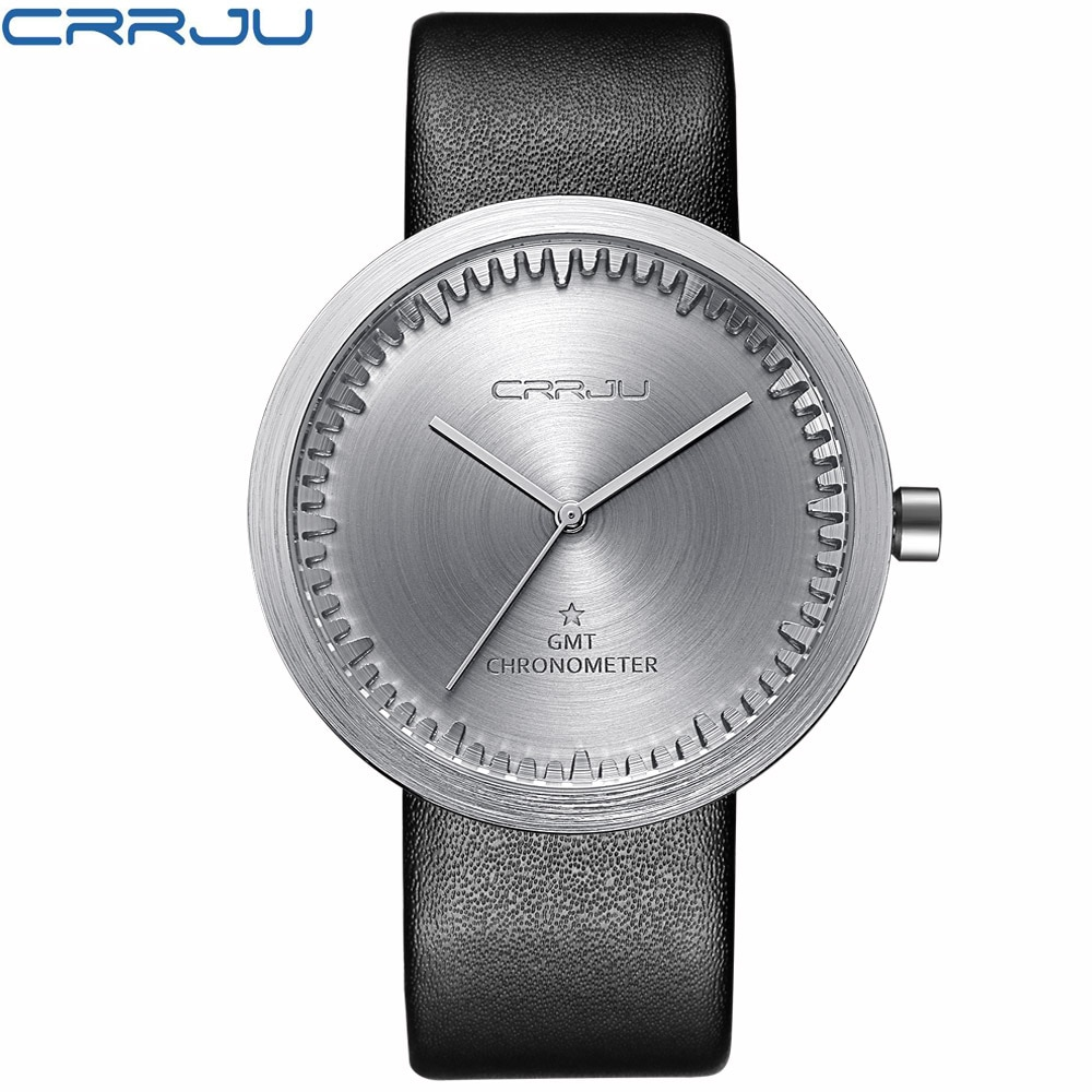 Winter Verkauf freiheit Marke Lederband Analog männer Quarzuhr Mode Casual Sport Uhren Männer Military Armbanduhr