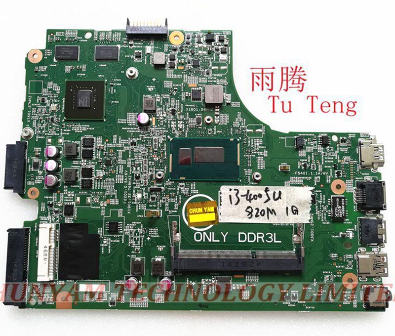 Placa mãe para Dell 3542 motherboard 3442 13269-1 PRB FX3MC GT820M motherboard I3-4210u entrega placa de teste 100% teste ok
