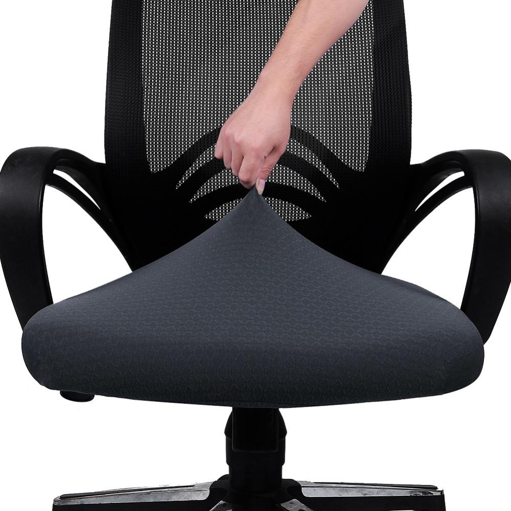 Funda elástica para silla de cocina y oficina, Fundas protectoras de asiento...