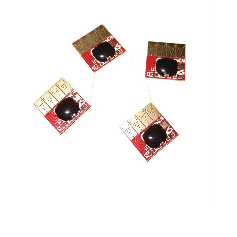 Совместимый чернильный картридж 711 СНПЧ с постоянным чипом для принтера HP Designjet T120 T520